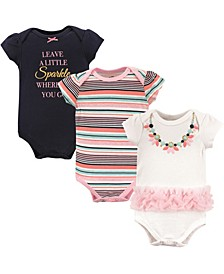Bodysuits, 3-Pack