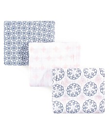 Yoga Sprout Muslin Swaddle Blankets, 3-Pack, One Size