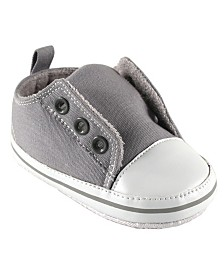 Luvable Friends Laceless Sneakers, Gray, 0-18 Months