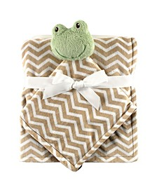 Hudson Baby Security Blanket and Blanket, One Size