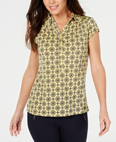 Women's Yellow Tops - Macy's