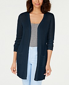 Vertical-Stitch Completer Sweater, Created for Macy's