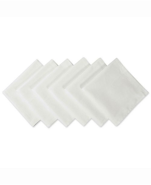 Design Import Polyester Napkin, Set of 6