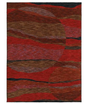 Shaw Living Rugs, American Abstracts Collection 36800 Marina Red