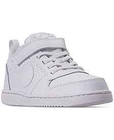 Little Boys' Court Borough Low Casual Sneakers from Finish Line