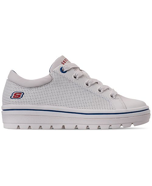 a5c1005018f ... Skechers Women s Street Cleat Freshest Casual Sneakers from Finish ...