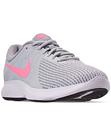 Nike Women's Revolution 4 Wide Width Running Sneakers from Finish Line