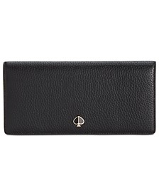 Polly Bifold Continental Leather Wallet