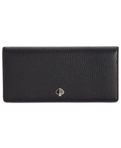 kate spade new york Polly Bifold Continental Leather Wallet