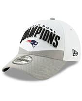 47016ef7485cb New Era New England Patriots Super Bowl LIII Champ Locker Room 9FORTY  Snapback Cap
