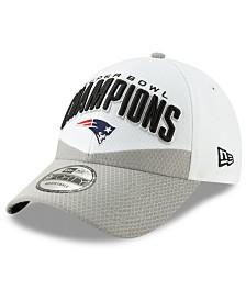 New Era New England Patriots Super Bowl LIII Champ Locker Room 9FORTY Snapback Cap