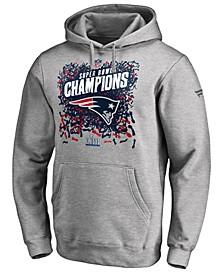 Men's New England Patriots Champ Official Locker Room Trophy Hoodie