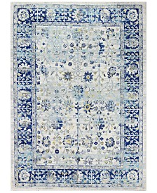 "BB Rugs Cassius CSS-503 Ivory/Blue 5' x 7'6"" Area Rug"