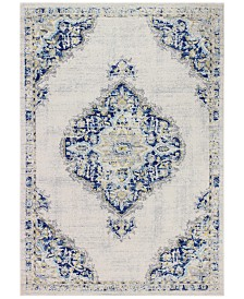 "BB Rugs Cassius CSS-509 Ivory/Blue 5' x 7'6"" Area Rug"