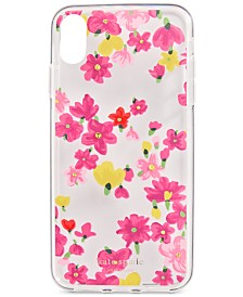 kate spade new york Jeweled Floral iPhone XS Max Case