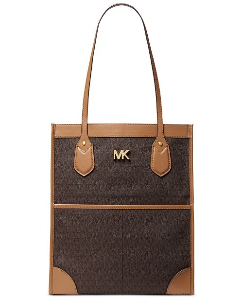 e80fae62562b Michael Kors Signature Bay Tote & Reviews - Handbags & Accessories ...