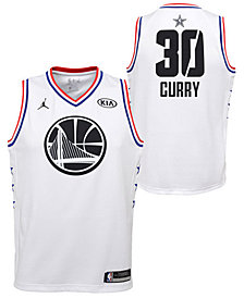 Outerstuff Big Boys Stephen Curry Golden State Warriors All Star Swingman Jersey