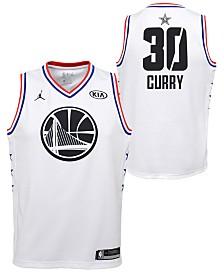 Outerstuff Big Boys Stephen Curry Golden State Warriors All Star Swingman Jersey