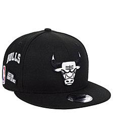 New Era Chicago Bulls Night Sky 9FIFTY Snapback Cap