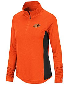 Women's Oklahoma State Cowboys Albi Quarter-Zip Pullover