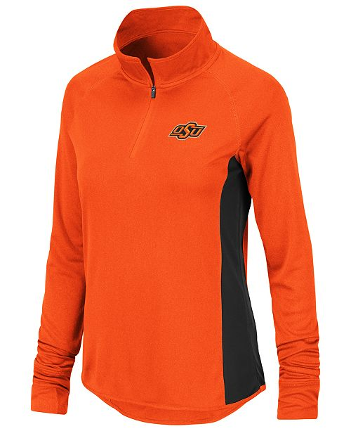 bf1973ad1 Product Details. The sleek design of the Colosseum Women s NCAA Albi Quarter -Zip pullover ...