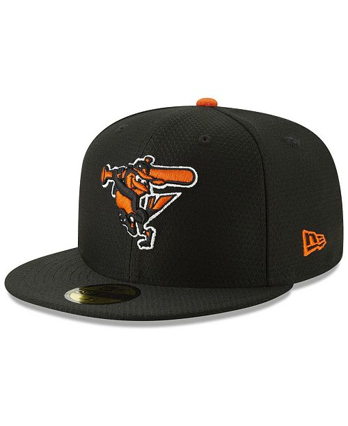 new product a728a fb6d5 ... New Era Baltimore Orioles Batting Practice 59FIFTY-FITTED Cap ...
