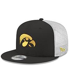 New Era Iowa Hawkeyes TC Meshback Snapback Cap