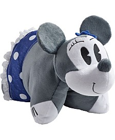 Pillow Pets Disney Denim Minnie Mouse Stuffed Animal Plush Toy