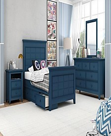 "Bailey 44"" Twin Panel Headboard"