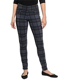 YALA Blake Organic Cotton and Viscose from Bamboo Tailored Skinny Pull-on Pant