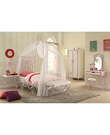 Priya II Twin Bed with Canopy