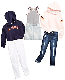 Epic Threads Big Girls Tank Top, Sweatshirt & Denim Separates, Created for Macy's