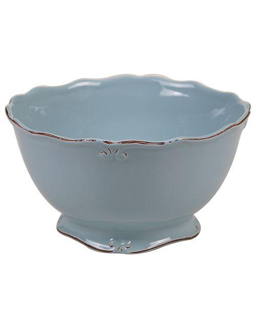 Certified International Vintage Blue Deep Bowl