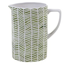 Mixed Greens Pattern Pitcher