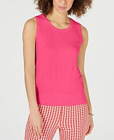 Sleeveless Crew-Neck Sweater, Created for Macy's