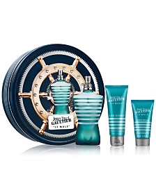 Jean Paul Gaultier Men's 3-Pc. Le Male Eau de Toilette Gift Set