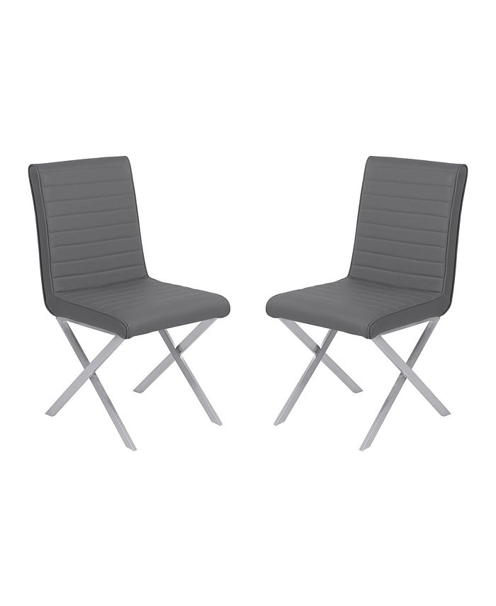 Armen Living - Tempe Dining Chair (Set of 2 ), Quick Ship