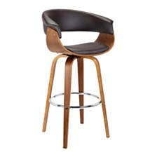 "Julyssa 30"" Swivel Barstool, Quick Ship"