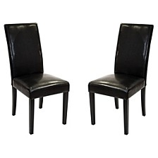 Leather Side Chair (Set of 2)