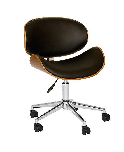 Armen Living Daphne Office Chair, Quick Ship