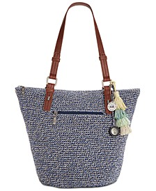 Silverwood Crochet Tote, Created for Macy's