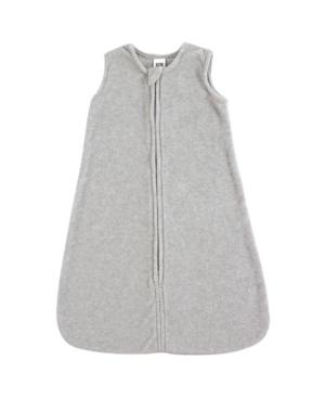 Baby Vision 0-24 Months Unisex Hudson Baby Baby Safe Sleep Wearable Sleeping Bag, Heather Gray Microfleece 1-Pack