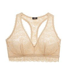 Never Say Never Sweetie Racerback Bralette, Online Only