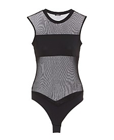 Cosabella Allover Fishnet Mesh Bodysuit, Online Only