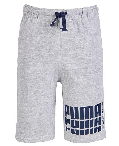 Puma Big Boys Rebel Logo Shorts