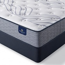 "Serta Perfect Sleeper Kleinmon II 11"" Plush Mattress Set- Queen Split"