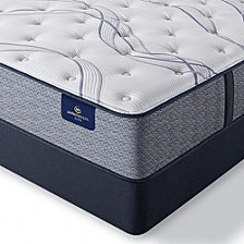 "Serta Perfect Sleeper Trelleburg II 12"" Plush Mattress Set - Twin"