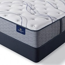 "Serta Perfect Sleeper Trelleburg II 12"" Plush Mattress Set - Queen"