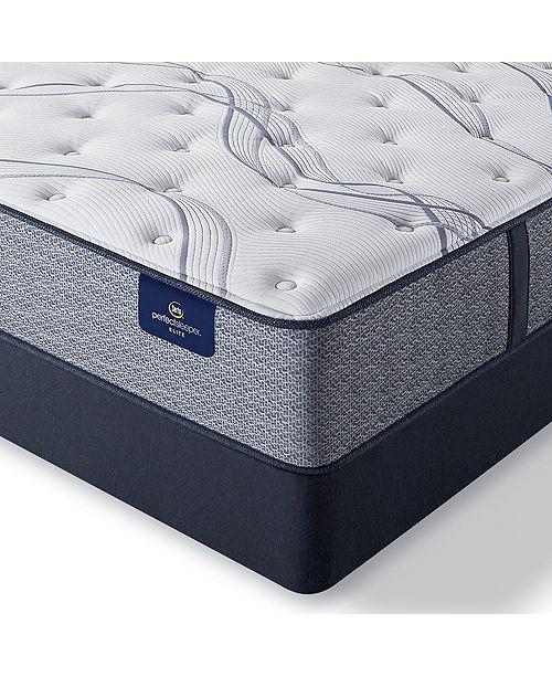 """Serta Perfect Sleeper Trelleburg II 12"""" Plush Mattress Set - Full"""