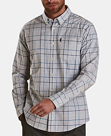 Barbour Men's Tattersal Plaid Shirt